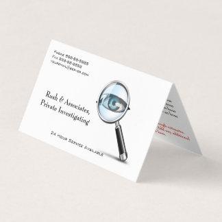私立探偵の探偵の名刺 名刺