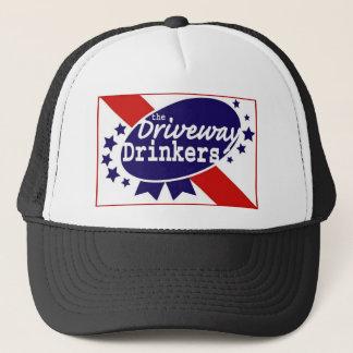 私道の酒飲みの網の帽子 キャップ