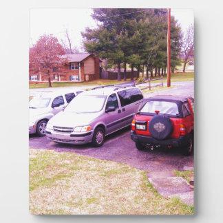 私道のcars.JPGのファミリー・カー フォトプラーク