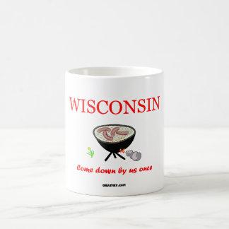 私達かつてコーヒー・マグを来るウィスコンシン- コーヒーマグカップ