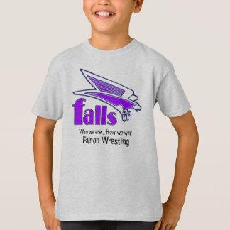 私達がいかに勝つか私達が…である滝、 Tシャツ