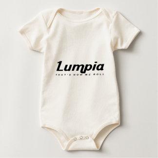 私達がいかに転がるかであるLumpia ベビーボディスーツ
