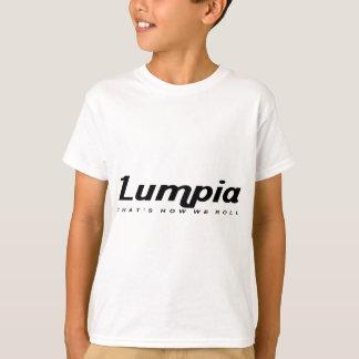 私達がいかに転がるかであるLumpia Tシャツ