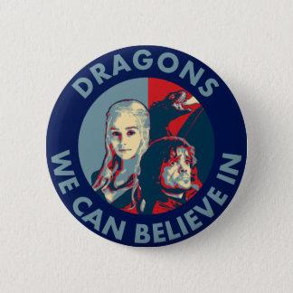 私達がキャンペーンボタンで信じてもいいドラゴン 5.7CM 丸型バッジ