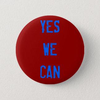 私達がボタンをかけてもいいYES 5.7CM 丸型バッジ