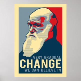 私達が信じてもいい非常に漸進的な変更 ポスター