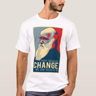 私達が信じてもいい非常に漸進的な変更 Tシャツ
