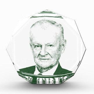 私達が信頼する神のZbigniew Brzezinski 表彰盾