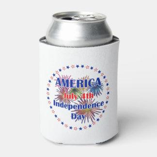 私達が7月4日の飲料のクーラーボックスをなぜ祝うか 缶クーラー