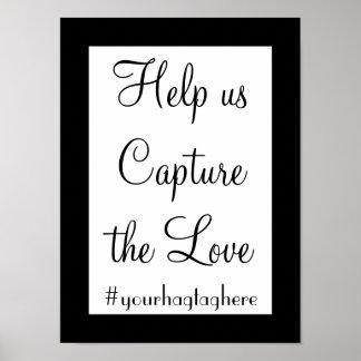 私達がHashtagの印を結婚する愛を捕獲するのを救済して下さい ポスター