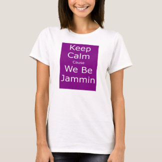私達によってがJamminである穏やかな原因を保って下さい Tシャツ