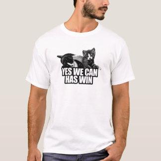 私達によってできるYESにWIN.pngがあります Tシャツ