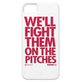 私達によってはピッチのそれらが戦います iPhone SE/5/5s ケース
