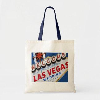 私達のすばらしいラスベガスの結婚式のバッグへの歓迎 トートバッグ
