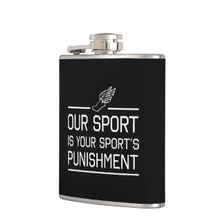 私達のスポーツはあなたのスポーツの罰です フラスク