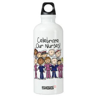私達のナースを祝って下さい ウォーターボトル