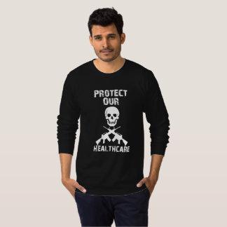 私達のヘルスケアのTシャツを保護して下さい Tシャツ