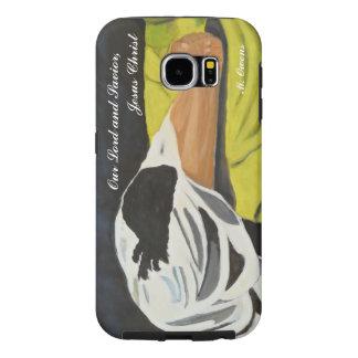私達の主および救助者のイエス・キリスト銀河系Samsung Samsung Galaxy S6 ケース