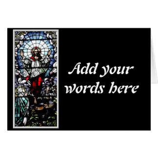 私達の主(ステンドグラス)の復活 カード