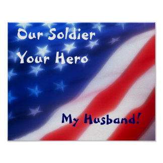私達の兵士、あなたの英雄、私の夫ポスター ポスター