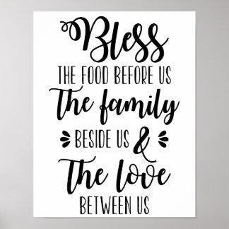 私達の前に食糧を家族ポスター賛美して下さい ポスター