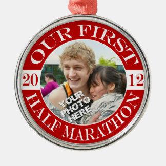 私達の前半のマラソン- 2012年 メタルオーナメント