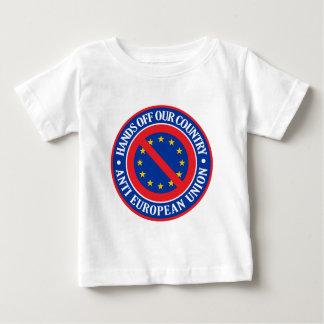 私達の国を離れた手-アンチEU ベビーTシャツ