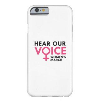 私達の声を聞いて下さい iPhone 6 ベアリーゼアケース