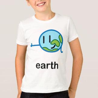 私達の大きい脂肪質の太陽系-地球 Tシャツ
