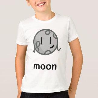 私達の大きい脂肪質の太陽系-月 Tシャツ