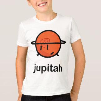 私達の大きい脂肪質の太陽系- Jupitah Tシャツ