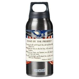 私達の大統領が付いている立場 断熱ウォーターボトル