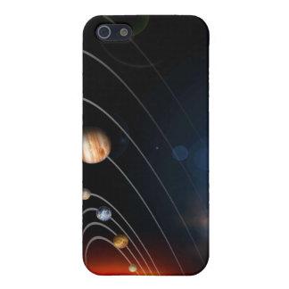 私達の太陽系のデジタルによって発生させるイメージ iPhone 5 ケース