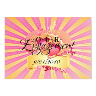 私達の婚約 カード