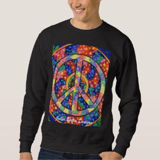 私達の宇宙スエットシャツの平和 スウェットシャツ