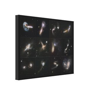 私達の宇宙: 銀河の超大作 キャンバスプリント