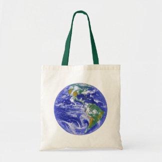 私達の家庭地球のトートバック トートバッグ
