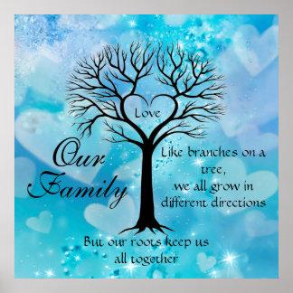 私達の家族 ポスター