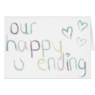 私達の幸せな終り グリーティングカード