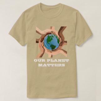 私達の惑星はTシャツ重要です Tシャツ