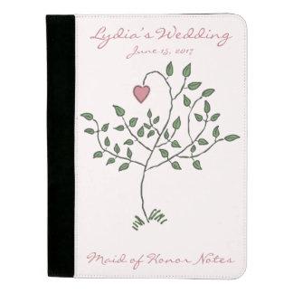 私達の愛は深く定着させたノートです パッドフォリオ