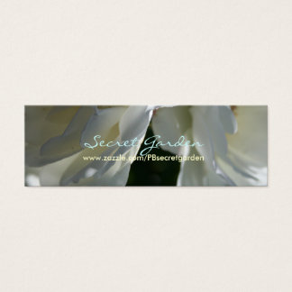 私達の愛(3)白いバラ スキニー名刺