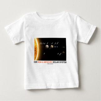 私達の新しく、改良された太陽系(銀河のユーモア) ベビーTシャツ