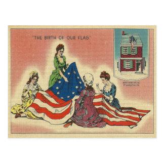 私達の旗の誕生 ポストカード