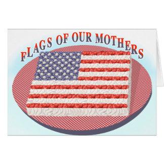 私達の母NOTECARDSの旗 カード
