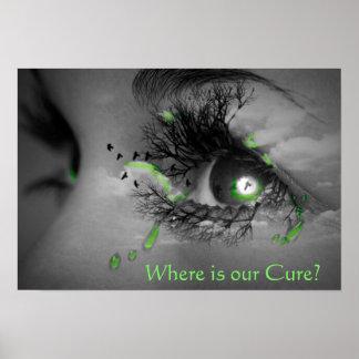 私達の治療はどこにありますか。 ライム病の認識度ポスター ポスター