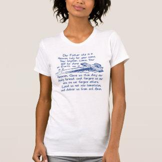 私達の父の祈りの言葉(Matthewの6:9 - 13) Tシャツ