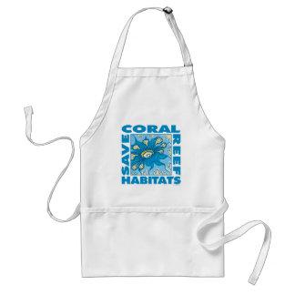 私達の珊瑚礁を救って下さい スタンダードエプロン