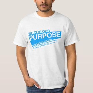 私達の目的の人のTシャツ Tシャツ