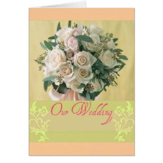 私達の結婚式 カード